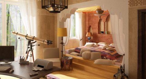 غرف نوم بلمسات من التراث العربي