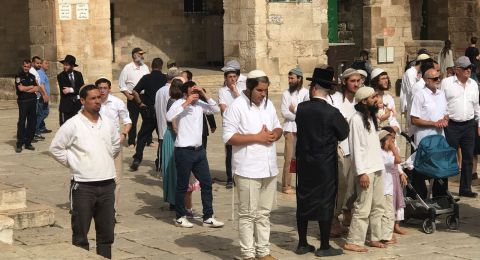 اوقاف القدس :حارسات المسجد الأقصى خط أحمر