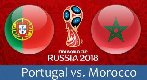 المزيد من الفرص الضائعة للمغرب وما زال التقدم للبرتغال 1 – 0