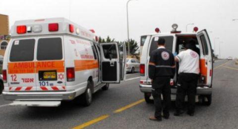بئر المكسور: سقوط سيدة من علو 5 أمتار واصابتها بصورة بالغة