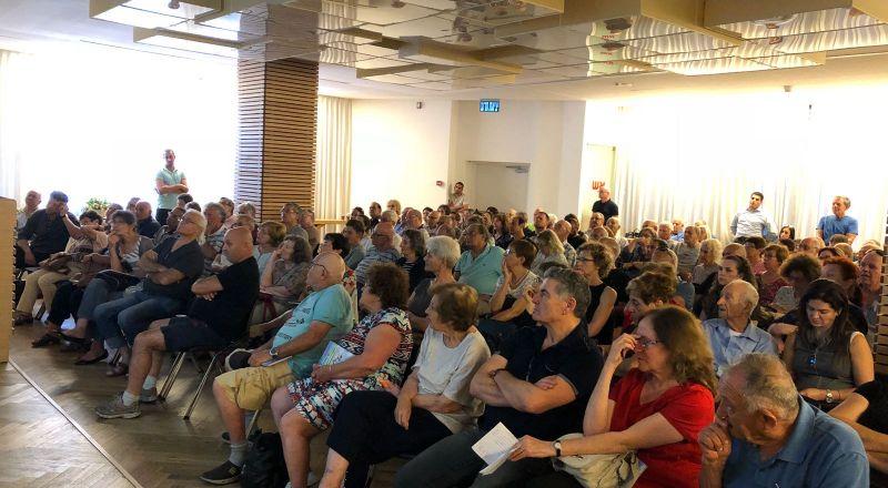 افتتاح ورشة عمل لإدارة وصيانة الأملاك المشتركة في المنازل المشتركة في بلدية حيفا