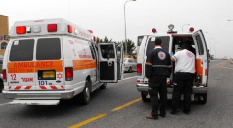 8 مصابين بينهم حالة خطيرة من عائلة عربية من الشمال في النقب