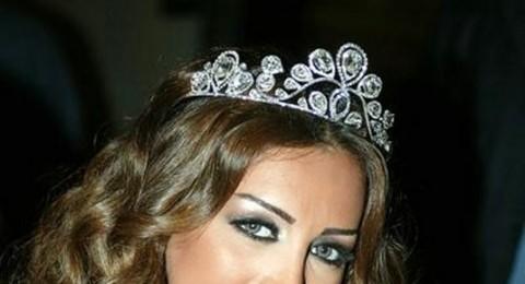 مايا دياب تكسر رجلها اثر حادث سقوط