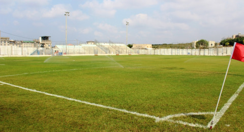 بلدية شفاعمرو تجهز الملعب البلدي للموسم الكروي القريب
