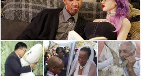 أغرب حالات الزواج في العالم والتي استبدلت البشر بحيوانات وأشياء