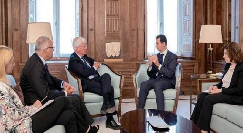 الأسد يستقبل وفدا برلمانيا إيطاليا بدمشق