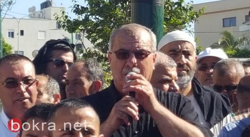 بركة: قضية الشيخ صلاح حلقة في الهجوم على جماهيرنا العربية