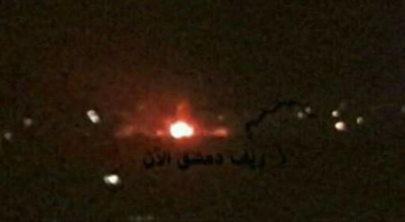 عسكري سوري يؤكد إسقاط طائرة إسرائيلية قرب مطار دمشق