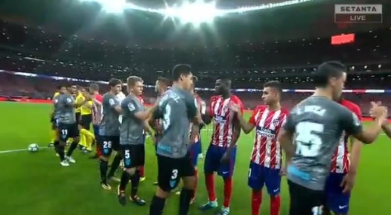 أتلتيكو مدريد يحتفي بملعبه الجديد بالفوز على ملقا