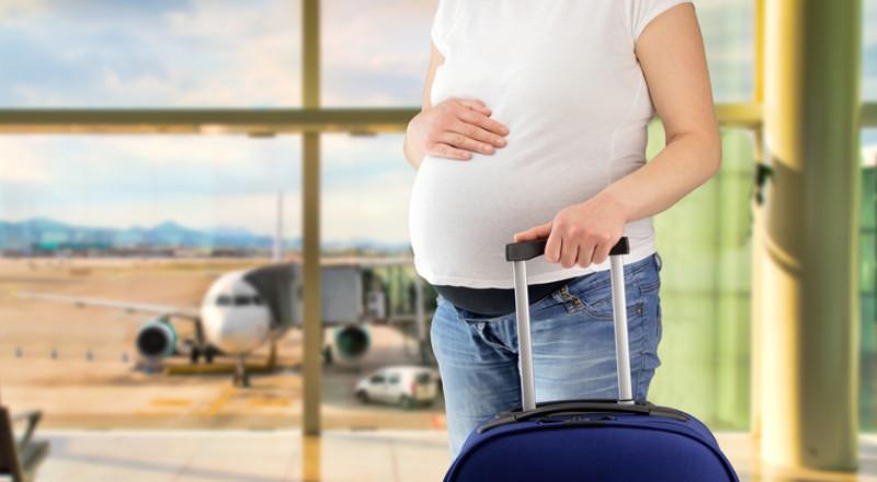 هل هناك خطر أن تمرّ الحامل عبر أجهزة التفتيش في المطار؟