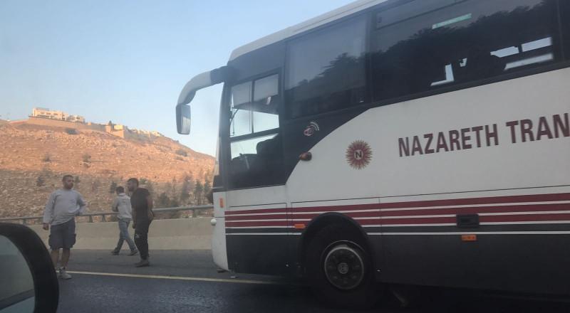 الشاب الذي تعرض للدهس قرب النفق، من الناصرة (27 عامًا) وإصابته بالغة