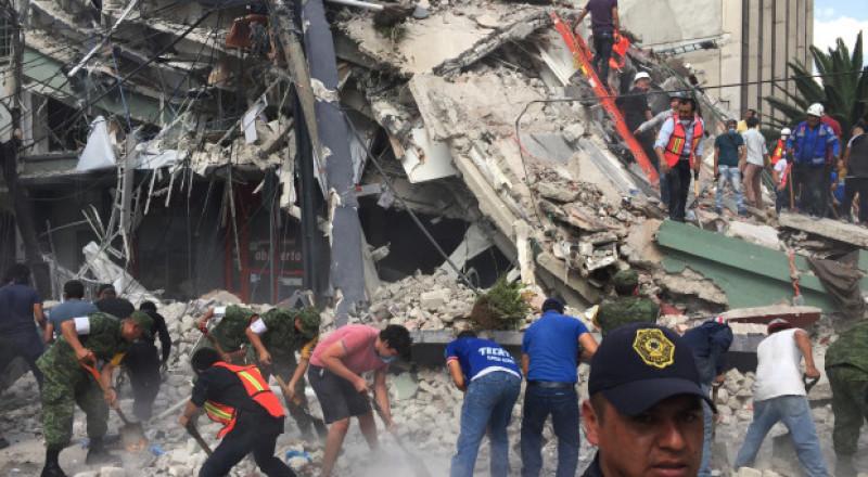 كارثة في المكسيك .. زلزال مخيف: عدد القتلى فاق الـ224 وآلاف المشردين والمصابين