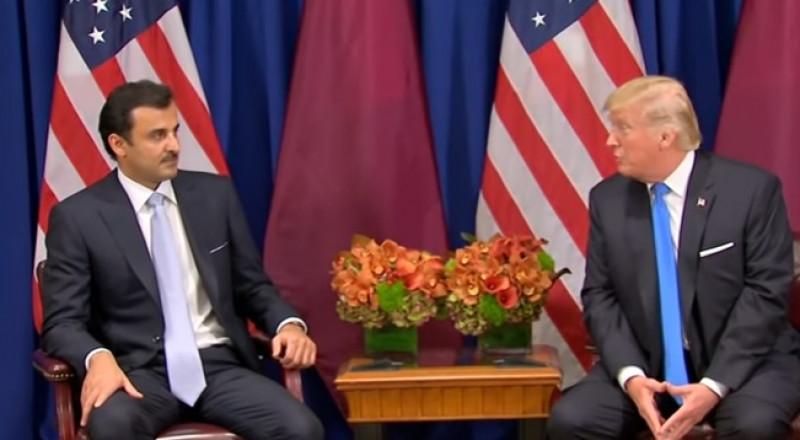 سوء فهم بين دونالد ترامب وأمير قطر!