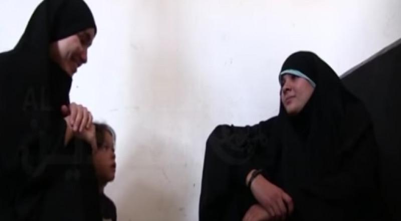 زوجات داعش نادمات ومصدومات بواقعهن الجديد بعد مقتل أزواجهن