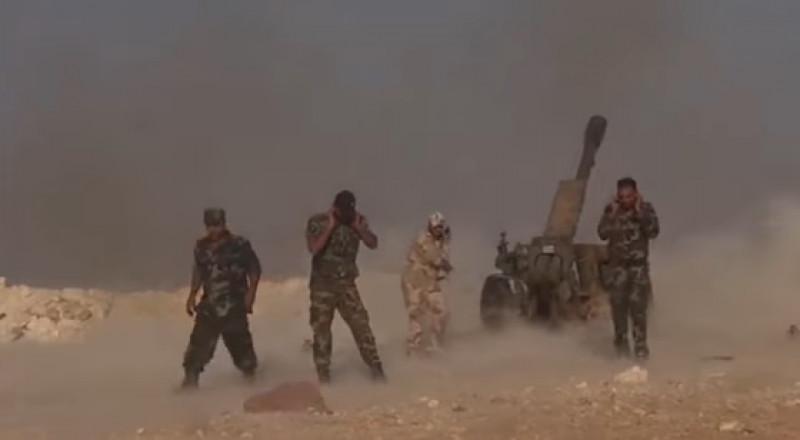 القوات الرديفة تطلق عملية للوصول إلى البوكمال السورية