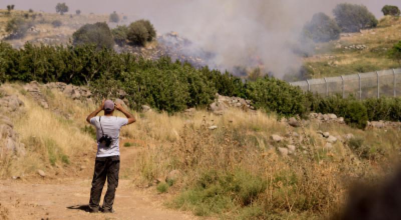 اسرائيل تسقط طائرة من دون طيار فوق الجولان السوري المحتل