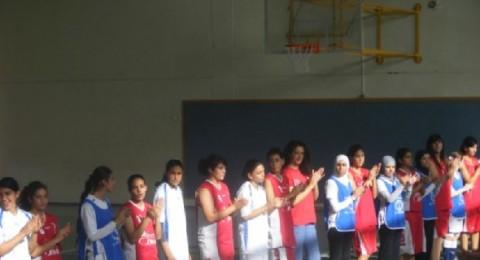 لقاء اخوي يجمع فريقي كرة السلة  شابات جنين  وهـ فتيات شفاعمرو.