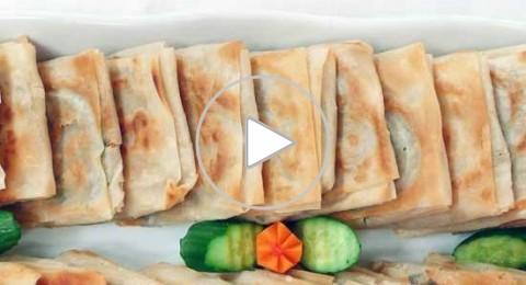 سمبوسك بالتونة من مطبخ منال العالم
