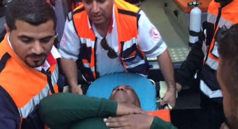 اصابة 18 مقدسيا خلال تفريق وقفة في شارع صلاح الدين