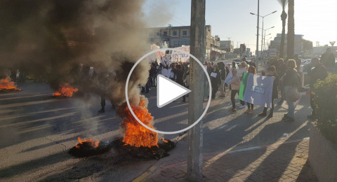 مظاهرات وإغلاق شوارع وإضراب في كل أنحاء البلاد بسبب أزمة