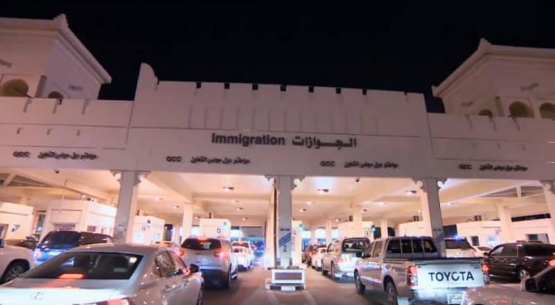 السعودية تغلق منفذها البري الوحيد مع قطر