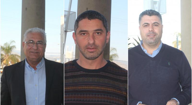 سخنين: غنايم،بدارنة وطربية يؤكدون ضرورة الاتحاد من اجل مكافحة السرقات والعنف