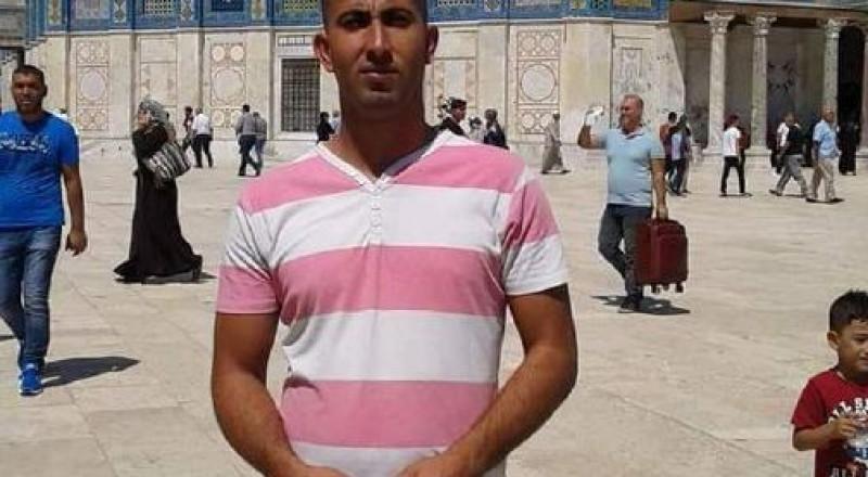 الشاب فارس الجمل ضحية حادث العمل  قرب القدس