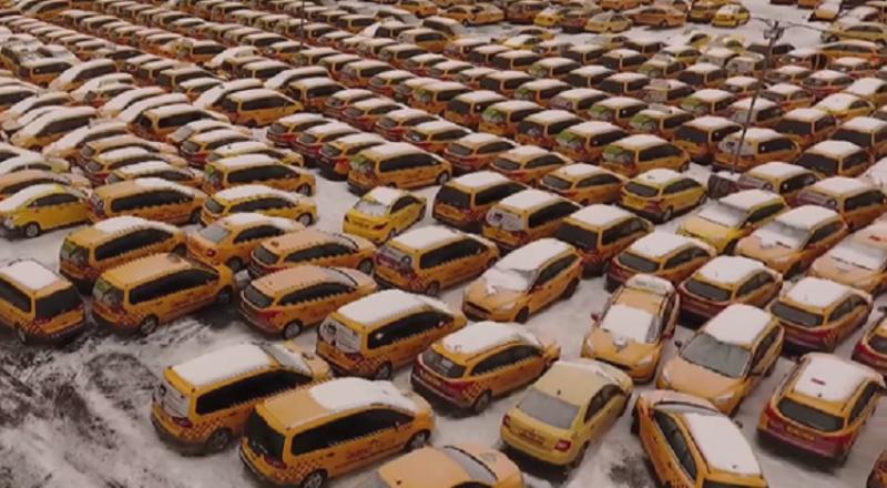 اكتشاف مقبرة لسيارات الأجرة في موسكو