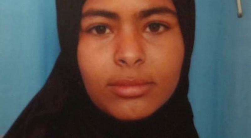 اختفاء اثار الفتاة دُنيا حميدي (17 عامًا) من رهط والشرطة تطلب مساعدة الجمهور