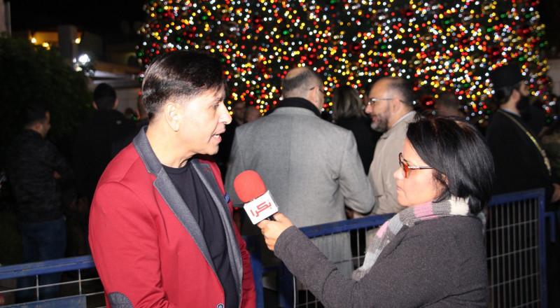 بسيم داموني: رغم أن حفل الإضاءة كان مختصرًا، إلّا أننا استطعنا إسعاد الأطفال وهذا ما يهم