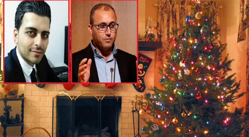 يهودي متدين يقوم بإزالة شجرة الميلاد لجاره، ويمنعه من نصبها!