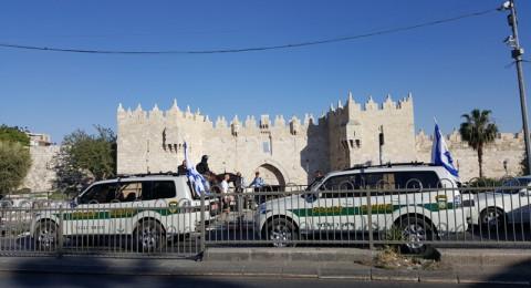 اعتقال مستوطنين اعتديا على سائق حافلة فلسطيني من القدس