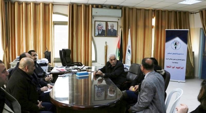 أبو النجا: فلسطين المستقبل مؤسسة رائدة وتخدم شريحة يجب زيادة الاهتمام بها