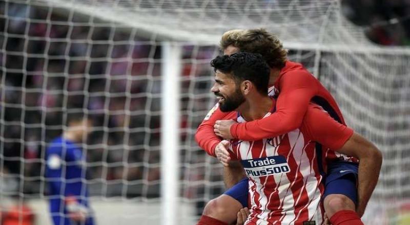 أتلتيكو مدريد يتغلب على بيلباو ويواصل مطاردة برشلونة