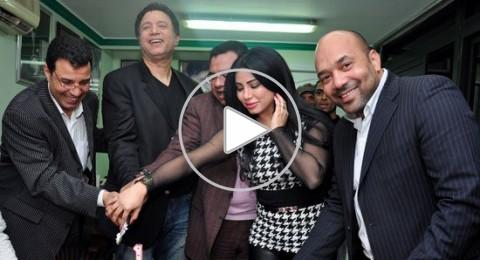 مروى اللبنانية تحتفل بعيد ميلاد إيمان البحر بنقابة الموسيقيين