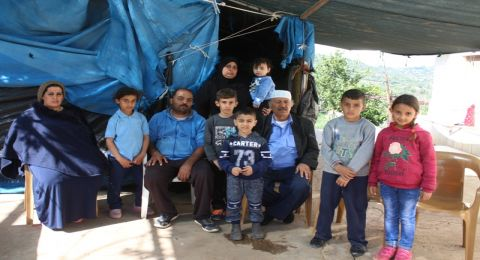 الحسينية: عائلة فاعور 40 نفرا يسكنون بيتهم دون كهرباء وابسط الحقوق_ رامي نصار