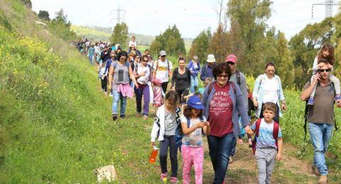 مسيرة الجلبوع تحقق رقمًا قياسيًا في عدد المشاركين