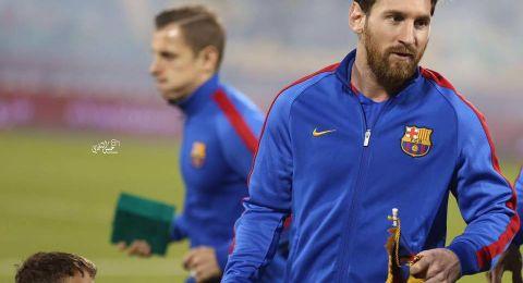مدرب برشلونة يتعلم من ميسي