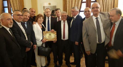 رابطة خريجي بلغاريا تلتقي الرئيس البلغاري