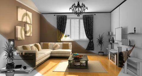 ديكورات كلاسيكية في المنازل الضيقة