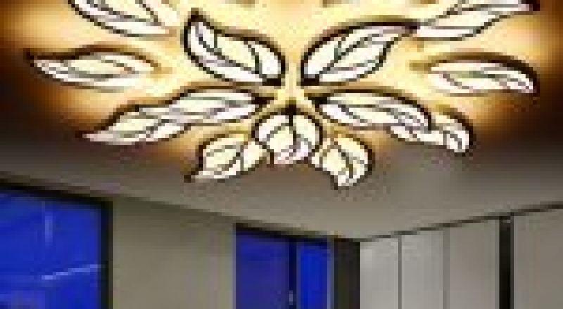 إضاءات حديثة للحوائط و الأسقف بديلا عن النجف