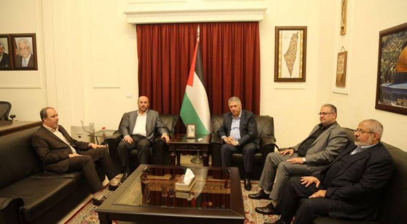 حماس في لبنان تلتقي سفير الفلسطيني