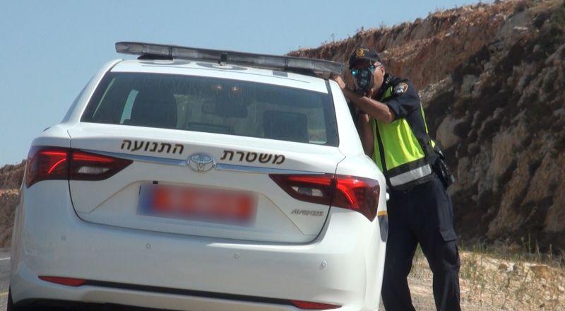 تحرير 692 مخالفات سير خلال نهاية الاسبوع الاخير في شوارع يهودا والسامرة