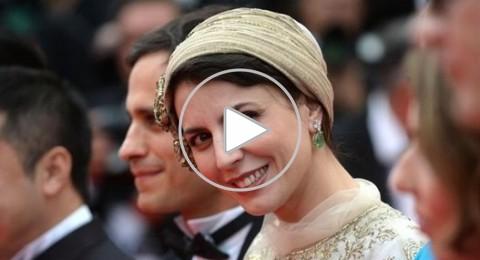 """قبلة ممثلة إيرانية في """"كان"""" تثير المتشددين"""