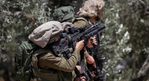 فقدان سلاح جندي على حدود قطاع غزة