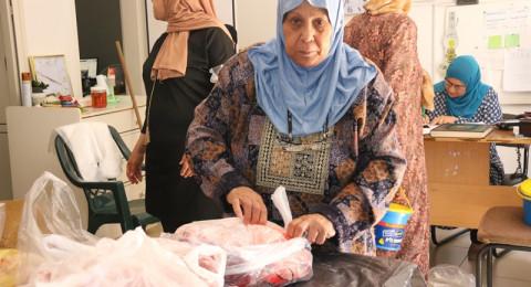 جمعية منكم واليكم سخنين معكم توزع 600 كغم من لحمة العيد على العائلات المستورة