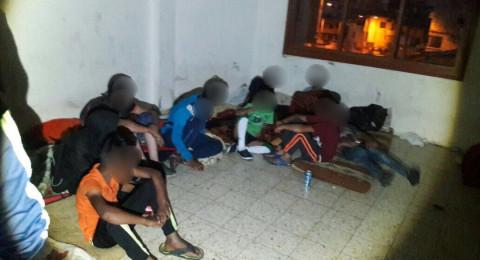 اعتقال 18 فلسطينيًا من الضفة في سخنين بشبهة التسوّل