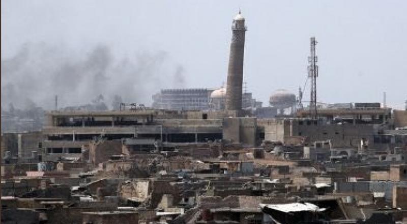 داعش يفجّر جامع النوري التاريخي والمنارة الحدباء في الموصل القديمة