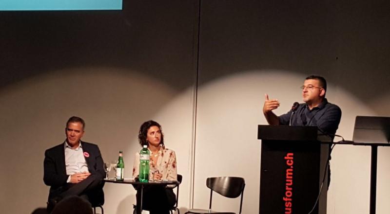 النائب جبارين في سويسرا: آن الأوان لضغط دولي جدي على اسرائيل