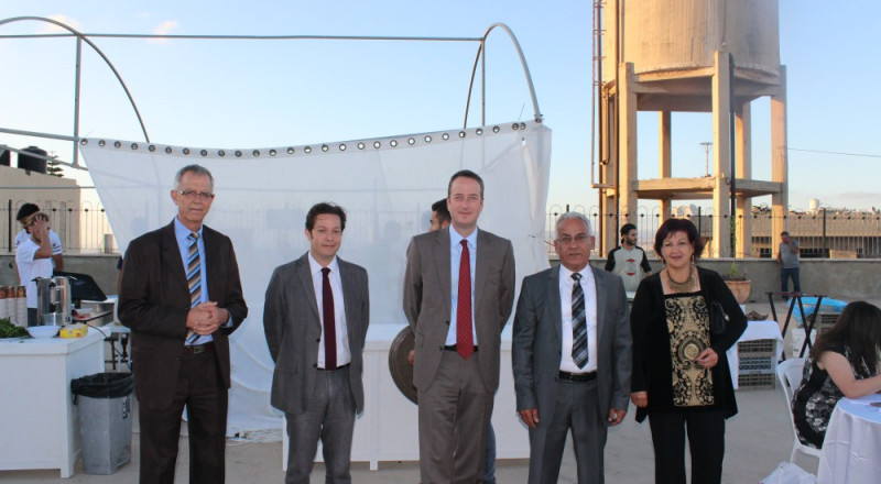 بلدية شفاعمرو والسفارة البريطانية يقيمان حفل افطار في قلعة الظاهر عمر